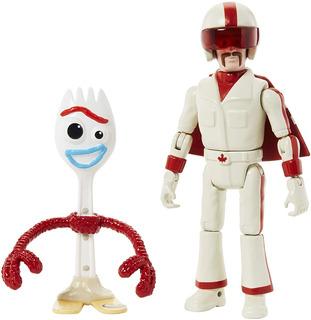 Disney Pixar Toy Story 4 Forky & Duke Caboom 17 Cm, 2019