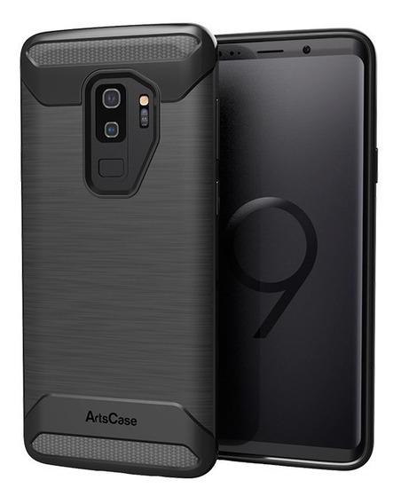 Forro Estuche Artscase Protección Galaxy S9 Plus Negro