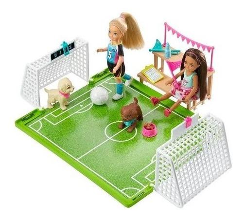 Barbie Chelsea Futbol Con Perritos Original Nuevo Mattel