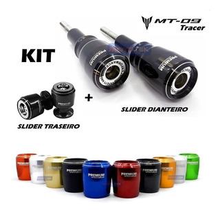 Kit Premium Slider Dianteiro E Traseiro Yamaha Mt 09 Tracer