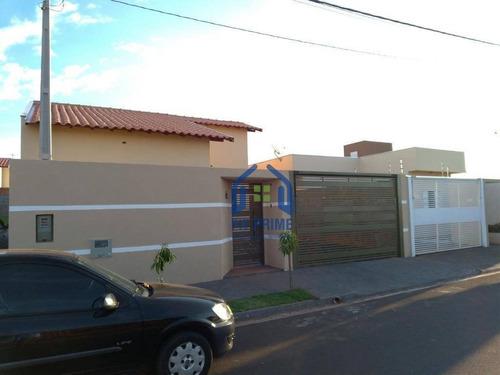 Casa Com 2 Dormitórios À Venda, 65 M² Por R$ 185.000 - Residencial Flórida Park - São José Do Rio Preto/são Paulo - Ca2317