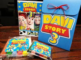 15 Kits Colorir, Modelar, Sacolinha Personalizada Toy Story