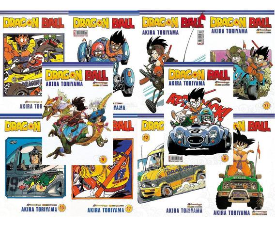 Combo Hq Mangá Dragon Ball 10 Ed. Novas Lacradas