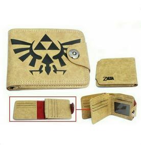 Zelda Cartera Piel The Legend Of Zelda Billetera Nintendo