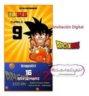 Invitacion Goku En Mercado Libre Argentina
