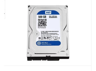 Hdd Disco Rigido Western Digital 500gb Sata3 Wd500aakx
