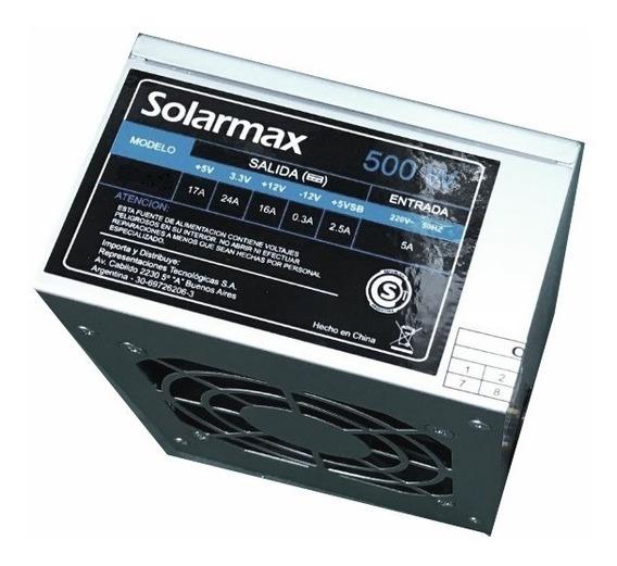 Fuente Solarmax Para Pc 500w Kc-cda-500