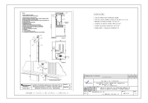 Projeto E Aprovação - Padrão De Entrada De Energia - Enel
