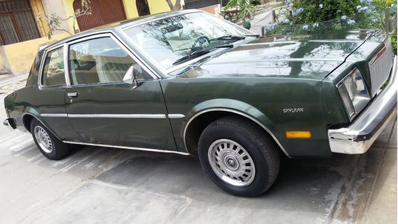 Buik Skylark 81 Auto De Coleccion Americano 3900 Dolares