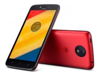 Celular Motorola Moto C Plus Xt1754 1+16gb Vermelho + Nfe