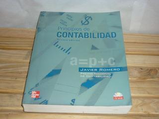 Libro Principios De Contabilidad Por Javier Romero