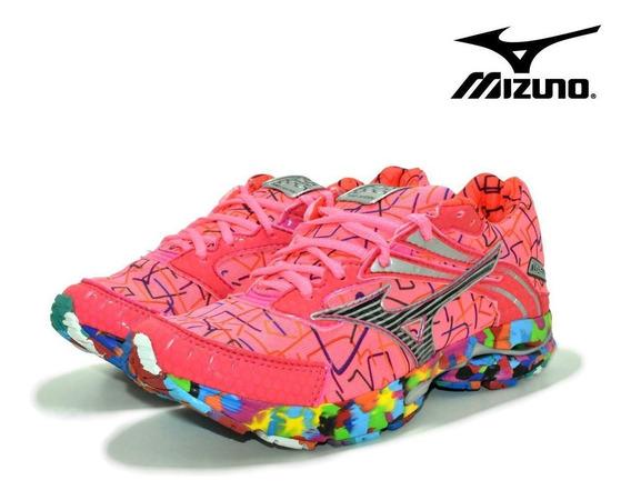Mizuno Wave Prime 9 Osaka Feminino Corrida Caminhada Esporte