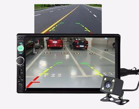 Mp5 Automotivo Fm Bluetooth Usb Sd Tela Touch 7 Camera De Ré