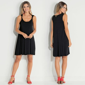 Vestido Plus Size Curto Soltinho Casual Moda Instagram Lindo