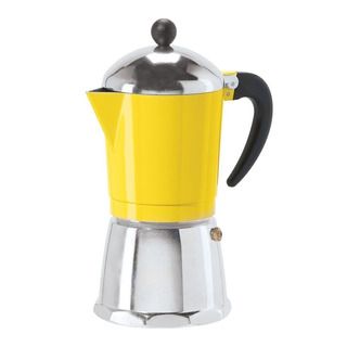 Cafetera Oggi 6579.4 Capacidad De 12 Oz Color Amarillo