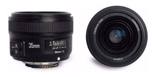 Imagem 1 de 3 de Lente Yongnuo Yn 35mm P/ Nikon F/2g (auto Foco)
