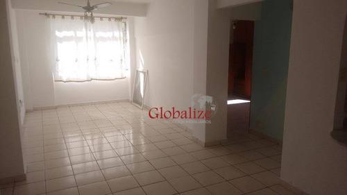 Imagem 1 de 27 de Apartamento Com 2 Dormitórios À Venda, 84 M² Por R$ 264.000,00 - Centro - São Vicente/sp - Ap0169