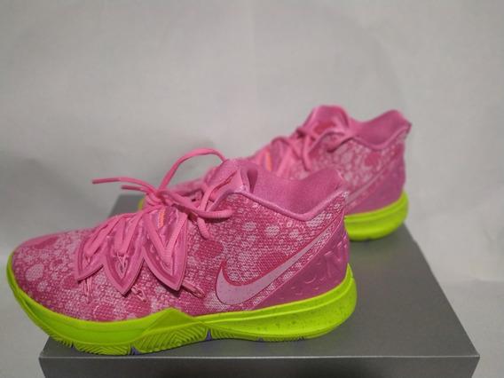 Tenis Nike Kyrie V Nickelodeon Patricio Originales Nuevos