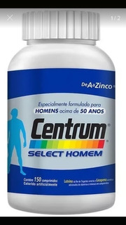 Promoção Centrum Homem Select 150c