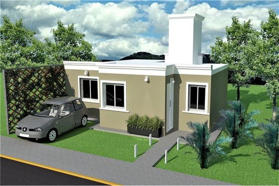 Casa 2 Dormitorios Hasta En 120 Cuotas- Pocito