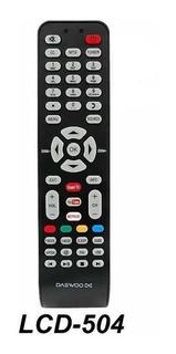 Control Remoto Lcd Led Smart Tv Para Tcl Rca Daewoo