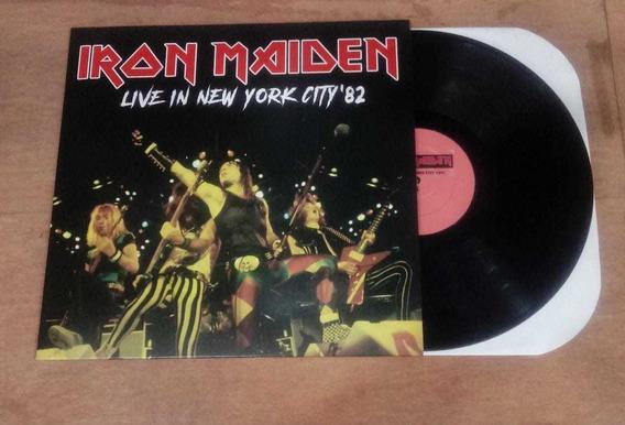 Vinil (lp) Vinil Lp Novo Iron Maiden - Li Iron Maiden