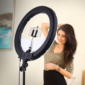 Iluminador Led Ring Light 19 Polegadas 48cm + Tripe + Acess
