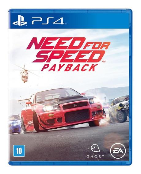 Jogo Need For Speed Payback Ps4 Midia Fisica Original Oferta