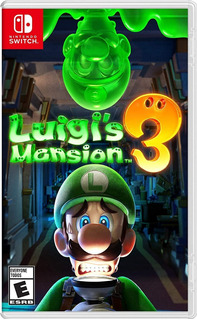 Luigis Mansion 3 Nintendo Switch Nuevo Fisico Original