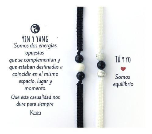 Imagen 1 de 5 de Manillas De Yin Y Yang Pulseras Para Parejas M1904