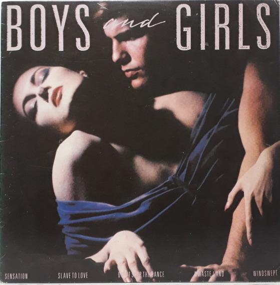 Lp - Bryan Ferry - Boys And Girls 1985,encarte