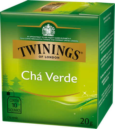 Imagem 1 de 1 de Chá Twinings Verde 10 Sachês