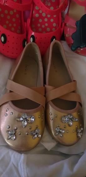 Zapatos Balerinas Tipo Flats Niña Marca Zara Elegantes