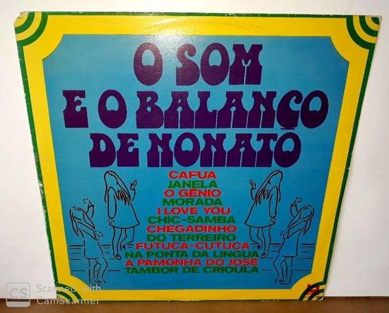 Lp O Som E O Balanço De Nonato-1976( Lp Sem Riscos E Raro)*