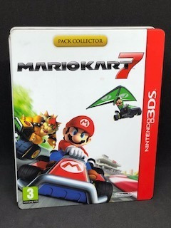Steelbook Mario Kart 7 Na Lata Nintendo 3ds Na Caixa C/jogo