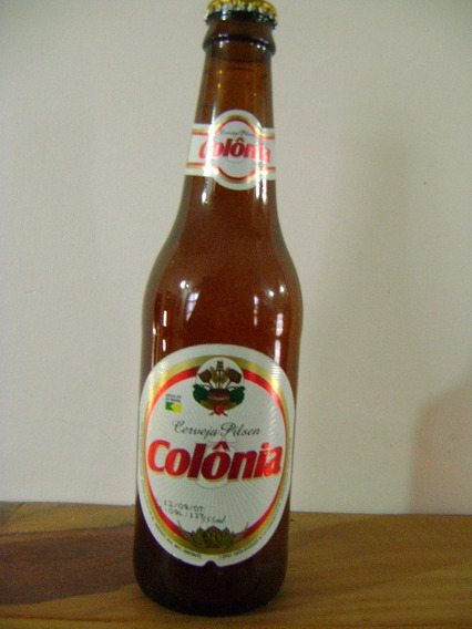 Botella Cerveza Pilsen Colonia Brasil