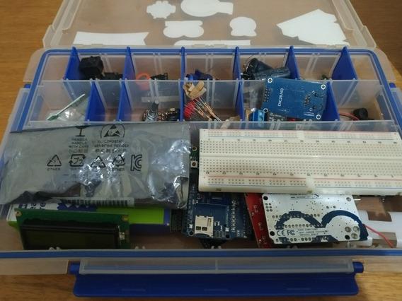 Kit Avançado Arduíno Rapsberry Pi Eletrônica 42 Itens