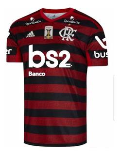Camisa Flamengo 2019 Oficial Patch Brasileiro Promoção