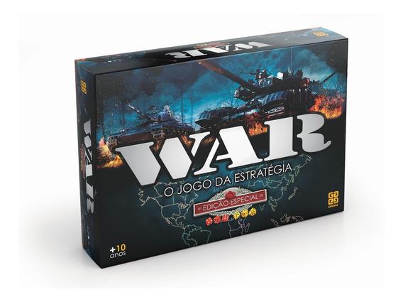 Jogo Grow War Edição Especial O Jogo Da Estratégia Original