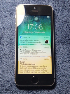 iPhone Se 128gb Cinza Especial