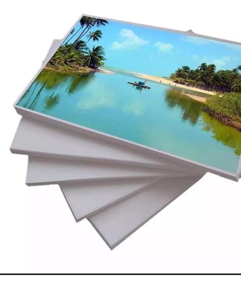 Papel Fotografico Glossy 130g A4 Brilho 100 Folhas Premium