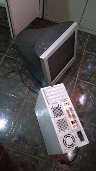 Computador De Mesa Pc Pentium 4 - 3ghz Completo