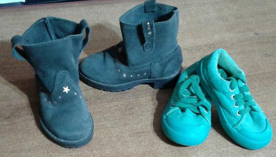 Botas Y Zapatillas En Excelente Estado ,llevá 2 X 1