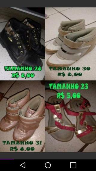 23 Pares De Sapatos Menina Do Tamanho 23 Ao 32