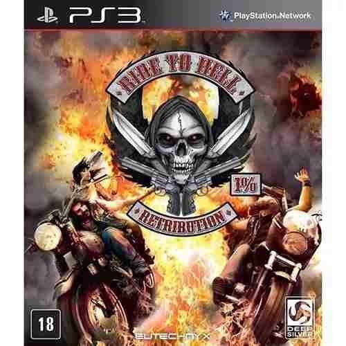 Jogo Ride To Hell Retribution Ps3