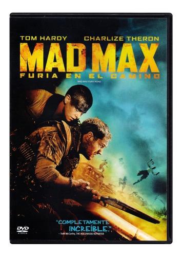 Mad Max Furia En El Camino Tom Hardy Pelicula Dvd