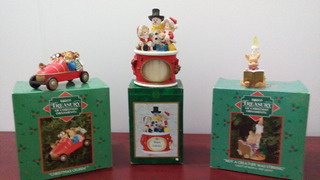 Enesco Treasury Ornament Vintage Adorno Navidad