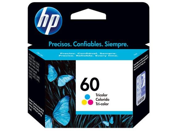 Cartucho Hp 60 Colorido Cc643 6,5ml