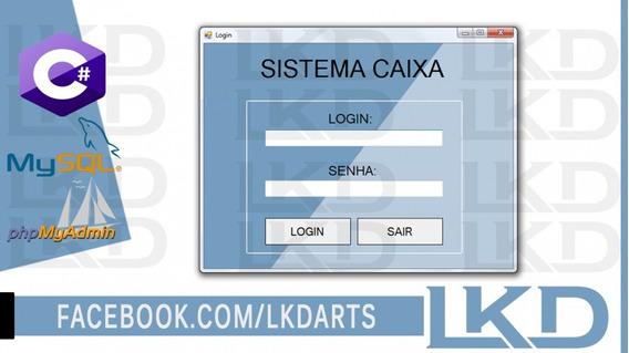 Sistema C# Frente De Caixa Com Bd Mysql Código Fonte - Lkd