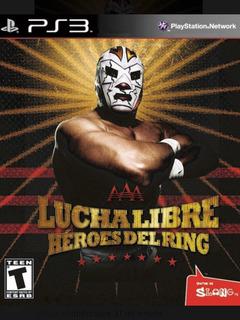 Lucha Libre Ps3 Héroes Del Ring